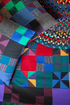 Emilie's quilts and rugs