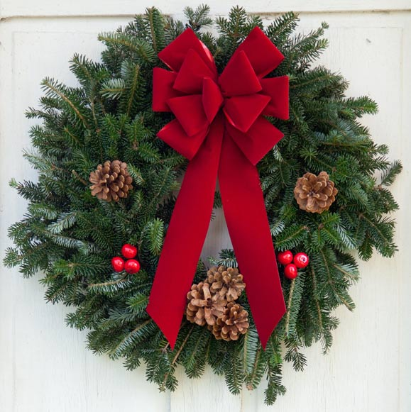 Wreaths for fundraising groups and corporate gifts emilie